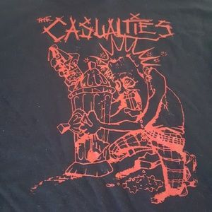 Other - The Casualties brand new punk t-shirt XL unworn